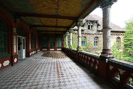 Beelitz Hospital Outdoors