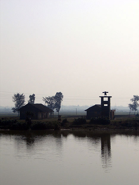Abandoned Towers on the Ben Hai River