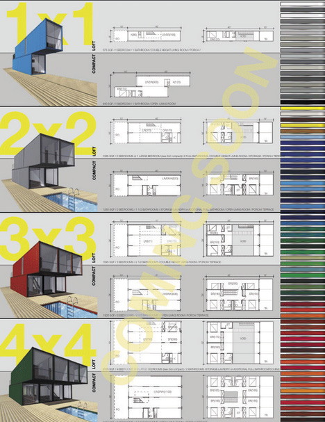 Conex Container Homes Plans 468 x 607