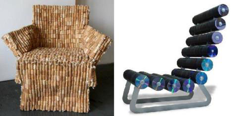 20 creative unique recycled furniture designs ideas for Designers that use recycled materials