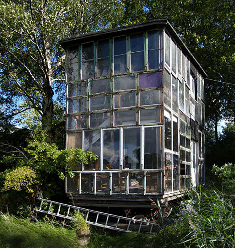 amazing glass house christiania glass house