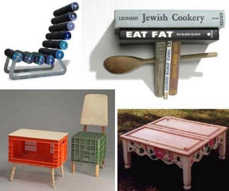 20 creative unique recycled furniture designs ideas