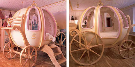 cool kids furniture cinderella pumpkin coach bed