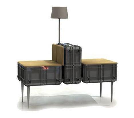 20 creative unique recycled furniture designs ideas for Crate design furniture