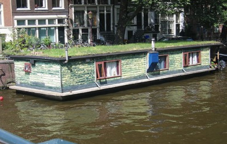 Redneck Houseboats on Amsterdam Houseboat Rental