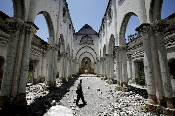 Ruins of a Cathedral in Mogadishu