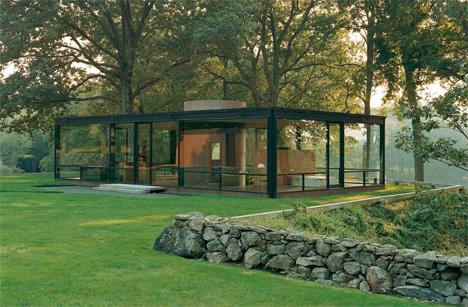 phillip johnson glass house
