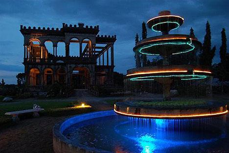 Talisay Ruins At Night
