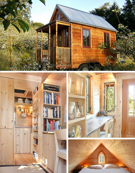 Crowded house 5 silly small homes cheap tiny houses for Cheap built homes