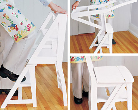 unusual dining room furniture stepladder chair