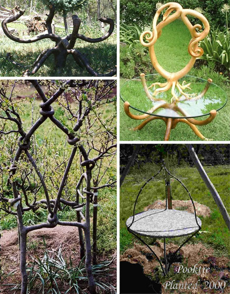 unusual garden furniture growing pooktre furniture
