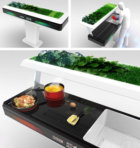 Unusual Kitchen Furniture Aion