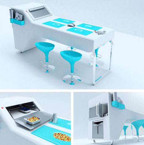 unusual kitchen furniture alight kitchen