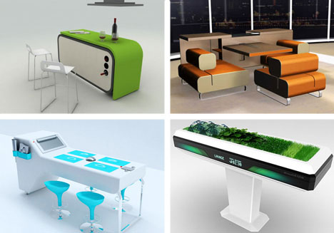 Complete series 90 awesome modern furniture designs urbanist - Oggetti per la casa strani ...