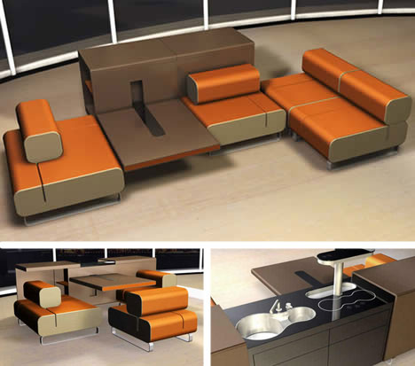 unusual kitchen furniture michael schmidt cooklounge