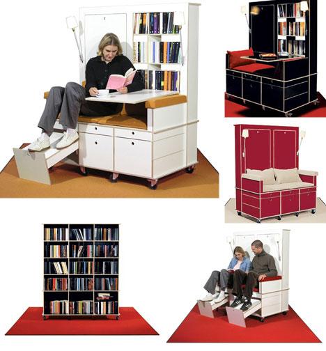 Unusual Office Furniture modern workspaces: 9 pieces of creative office furniture | urbanist