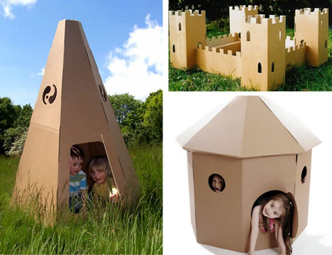 unusually cool kids furniture cardboard furniture