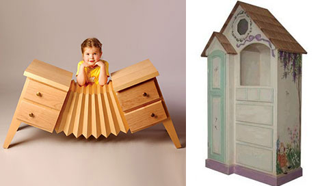 unusually cool kids furniture dressers