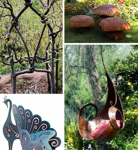 unusually magical garden furniture
