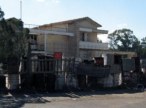 Varosha Wall And House