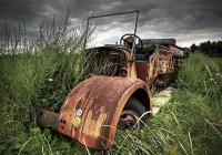 Deserted Firetruck
