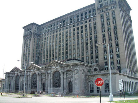 abandoned michigan central station