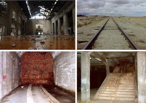 abandoned railroads trains subways