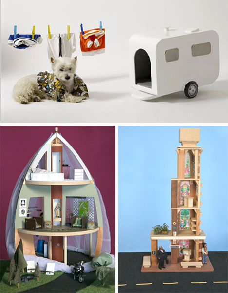 amazing dog houses and doll houses