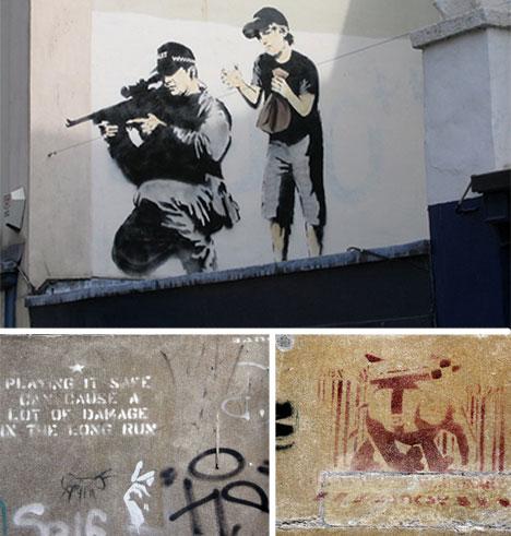banksy bristol street art