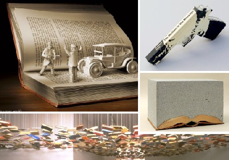 a picture is worth art by 10 brilliant book artists
