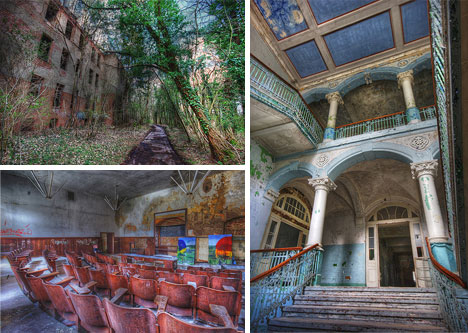 Gallery 24 Beautiful Hdr Photos Of Abandoned Places Urbanist
