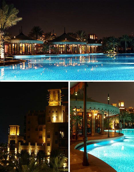 luxurious swimming pools al qasr