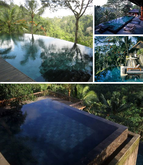 luxurious swimming pools begawan giri