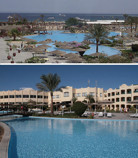 luxuriouis swimming pools hurghada le meridien