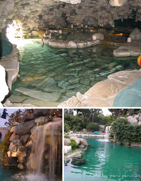 luxurious swimming pools playboy mansion - Mansions With Swimming Pools