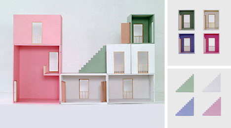 Model homes doll houses