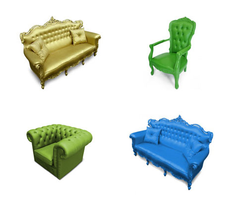 plastic fantastic outdoor sofa chairs