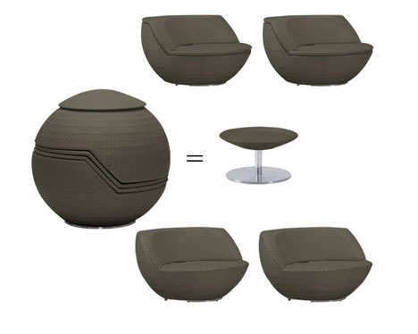 stackable golf outdoor furniture