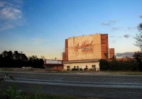 Abandoned Drive-In Theater Photos