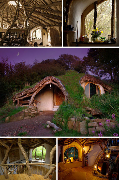 This incredibly cozy picturesque 'hobbit hole' house is the ultimate blend  of unique style, sustainability and building on the cheap.