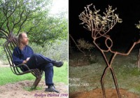 Tree Sculptures Furniture Art