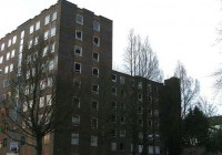 Abandoned Apartment Building Complex Photos