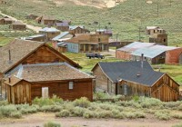 Wild West Ghost Town Bodie