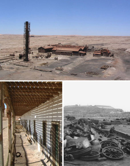 Deserted Ghost City Humberstone