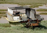 Abandoned Boat Vehicle Photo