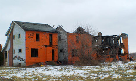abandoned detroit houses