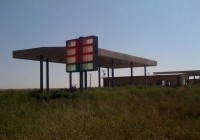 Abandoned Gas Station Photo