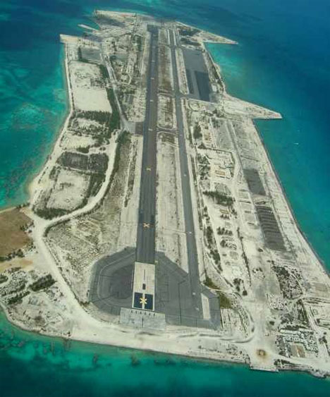 abandoned johnston atoll runway