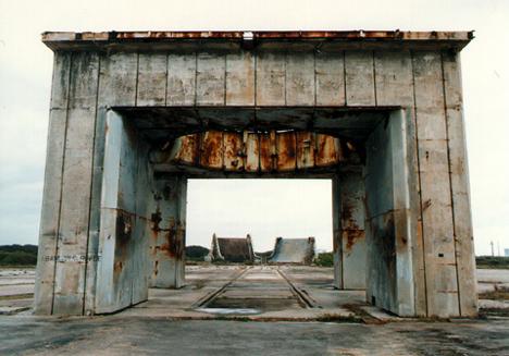 abandoned launch pad