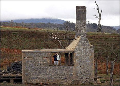 abandoned old adaminaby australia